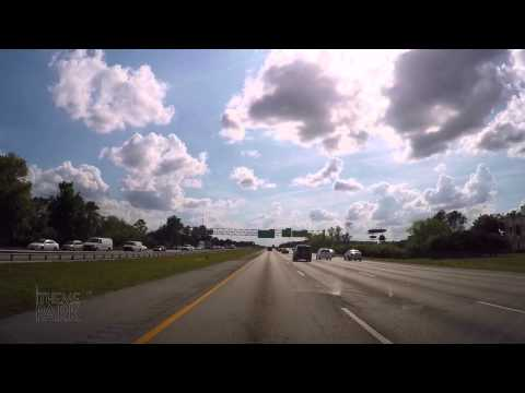 Driving Through Orlando Florida Time Lapse | Universal Orlando International Drive Walt Disney World