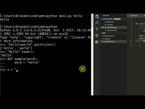 Learning Python 012: Building a Spellcheck Program