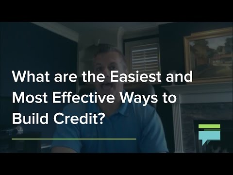 What Are the Easiest and Most Effective Ways to Build Credit? - Credit Card Insider