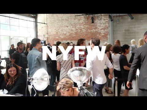 BACKSTAGE AT NEW YORK FASHION WEEK