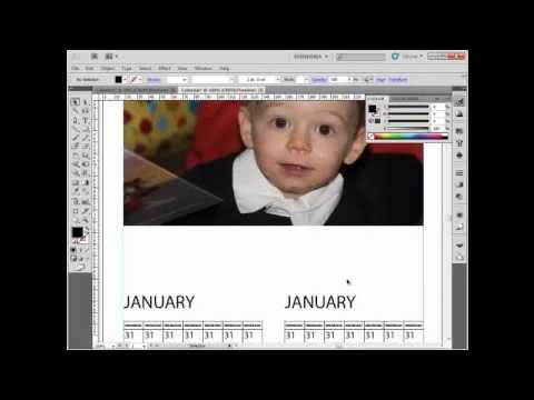 Create a Calendar in Adobe Illustrator