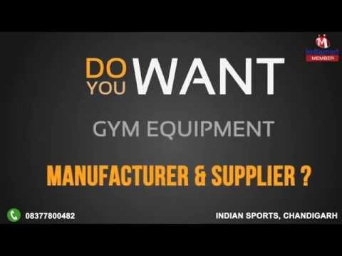 Gym Equipment by Indian Sports, Chandigarh