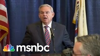 NJ Senator Bob Menendez Indicted | Rachel Maddow | MSNBC