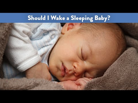 Should I Wake a Sleeping Baby? | CloudMom