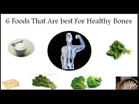 6 Foods That Are best For Healthy Bones