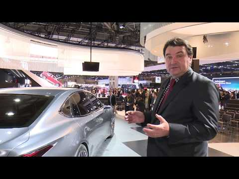 The Lexus LS+ Concept revealed at the Tokyo Motor Show