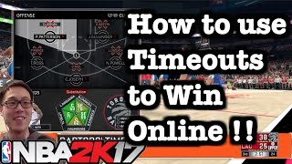 Nba 2k17 Tips Best Online Offense Tips And Tricks How To Use Timeouts