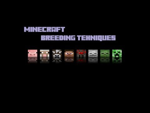 Minecraft-Breeding technique/How-To taming, Wolf, Cow, Pig, Sheep, Ocelot