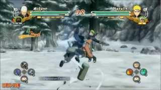 NARUTO STORM 3: Mifune Vs KCM Naruto