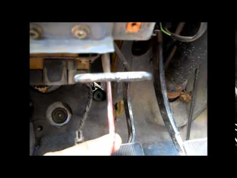 Ford Ranger 1991 soggy clutch pedal Pt 3