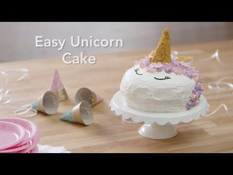 How to Make Easy Unicorn Cake