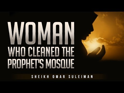 [AMAZING STORY] Woman Who Cleaned The Prophet's Mosque - EMOTIONAL