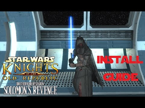 Star Wars KOTOR: Brotherhood of Shadow Installation Guide for Android