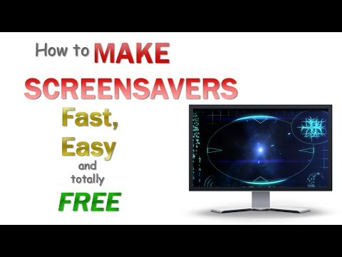 How to make your own custom screensaver