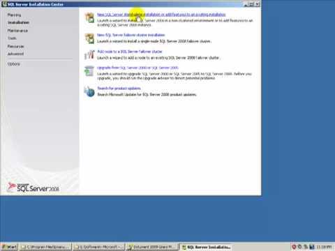 Installing SQL Server 2008 Express - Part I