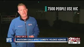 Download Fed shutdown could affect domestic violence shelters Video