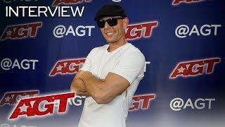 Interview: Alex Dowis Chats About His Future Plans In Light Painting - America's Got Talent 2019