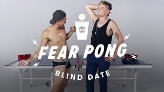 Blind Dates Play Fear Pong - Sonny & Nathan
