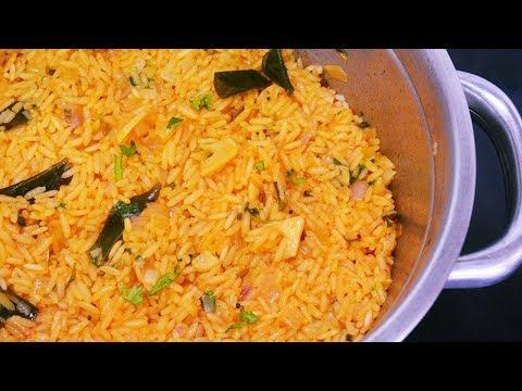 Spicy Garlic Onion Rice   Quick & Easy Rice Dish