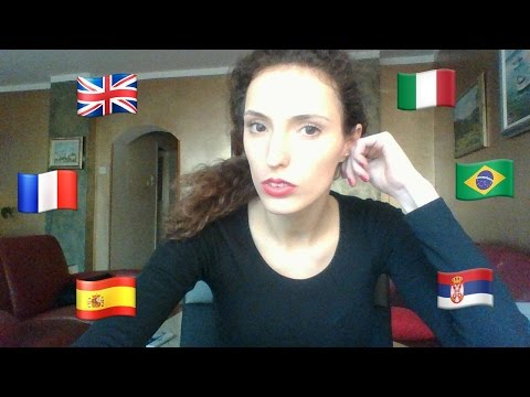 serbian french polyglot speaks 6 languages SUBTITLES