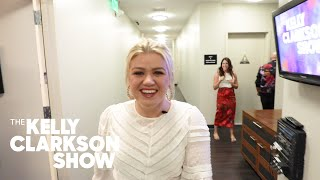 Kelly Gives A Behind the Scenes Wardrobe Tour | The Kelly Clarkson Show