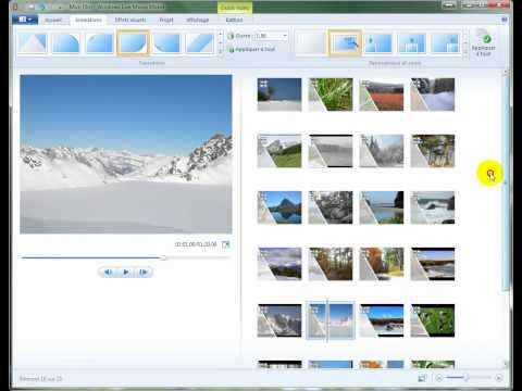 Tuto windows live movie maker 2011 Vista et W7 un sur deux.wmv