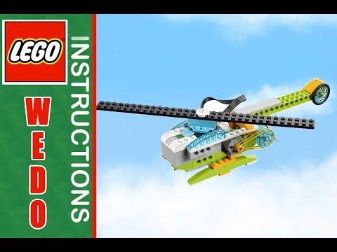 LEGO instruction WEDO 2 Helicopter    Лего студия в Броварах   Лего бровары