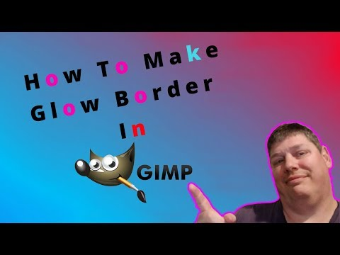 How To Make A Glow Border In Gimp