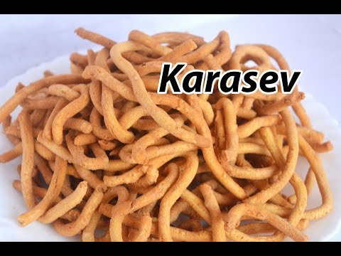 KaaraSev Recipe | காராசேவ் | Snacks recipe | Crispy KaraSev