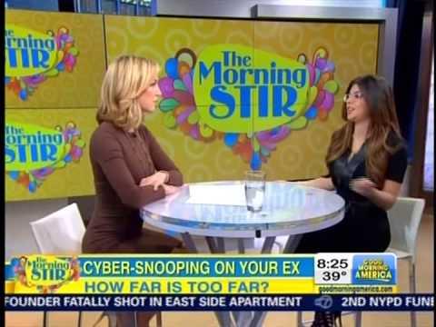 Chelsea Krost on Good Morning America - 1/5/2015