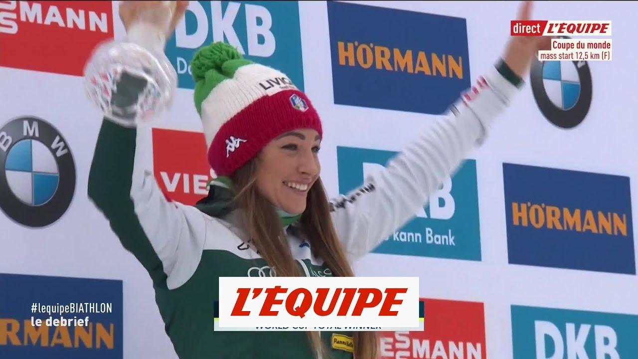 Le sacre de Dorothea Wierer - Biathlon - CM (F)