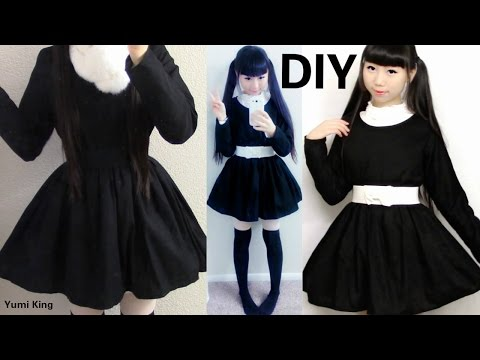 DIY Simple Long Sleeve Dress for Begginers