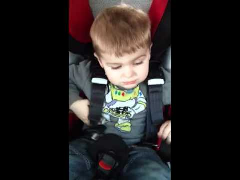 2 Year Old Undoing 5 Point Carseat Harness