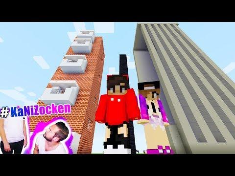 KAANS HOCHHAUS vs NINAS HOCHHAUS! Die höchsten Häuser in Minecraft! Build Battle Wohnen vs Büro