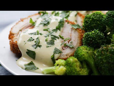 Crispy, Creamy Chicken Cordon Bleu