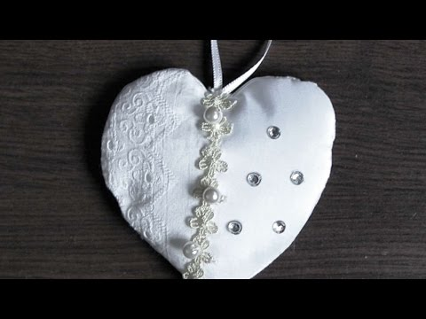 How To Make A Hanging Wedding Accessory - DIY Crafts Tutorial - Guidecentral
