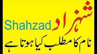 Shahzad naam meaning Shahzad naam ka matlab kya hota hai