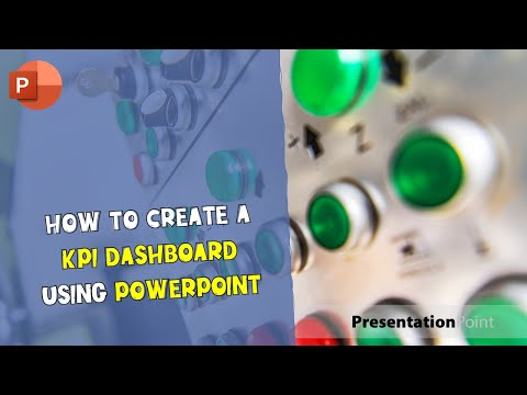 How to Create a KPI Dashboard Using Powerpoint
