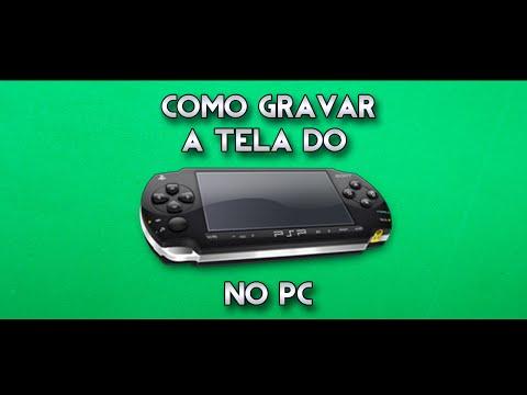Como gravar a tela do PSP (6.60) no Computador