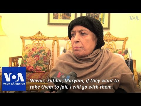 Xxx Mp4 Nawaz Sharif 39 S Mother Says She 39 Ll Go To Jail With Son Amp Granddaughter 3gp Sex