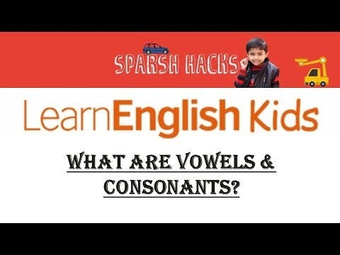 What are Vowels and Consonants? | Learn English by Easy Stories in Hindi | Learn English for Kids