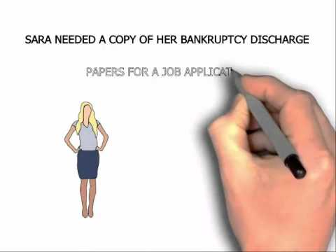 Michigan Copy of Bankruptcy Discharge Papers $8