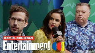 'Brooklyn Nine-Nine' Cast Joins Us LIVE | SDCC 2019 | Entertainment Weekly