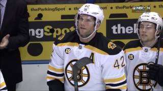 Blues fans give Backes warm welcome in return to St. Louis