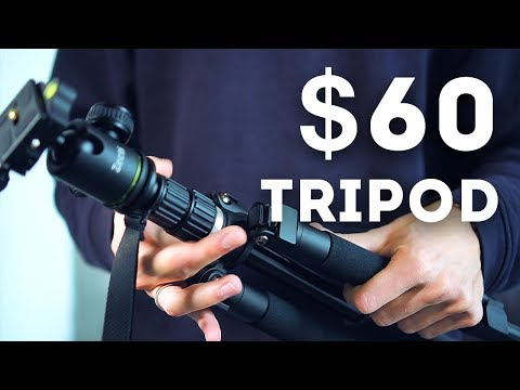 How good is a $60 tripod? Zecti 55