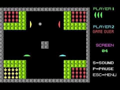 DOS Game: Bat'n Ball