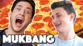 Doctor Mike & Nephew Mini Vlog | Pizza MUKBANG