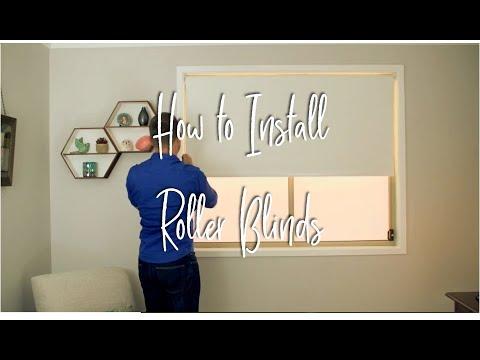 How to Install Roller Blinds - Australia