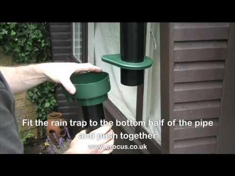 How to install a water butt - crocus.co.uk