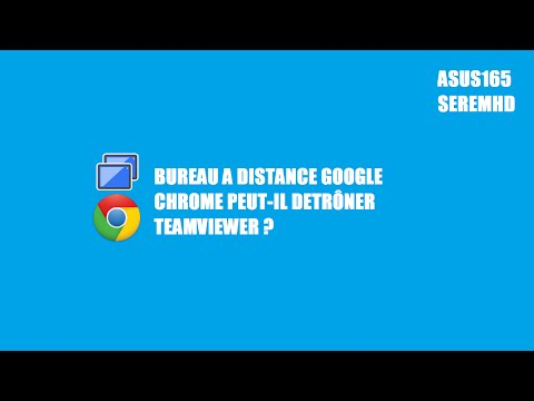 bureau a distance google chrome